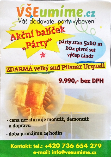 """Balíček """"Párty"""""""